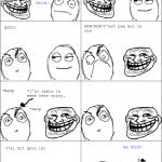 Le trolleur trollé