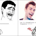 ressemblance memes faces/youtubeur
