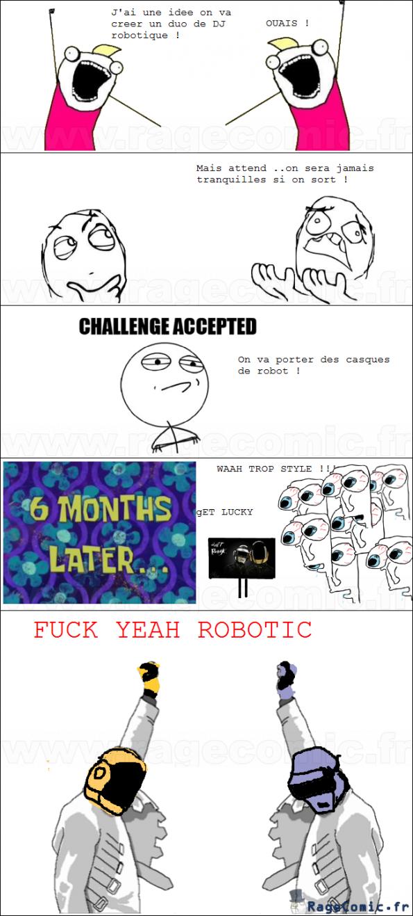 Comment sont apparus les Daft Punk