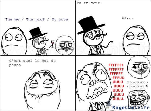L'art de troller un prof d'englais