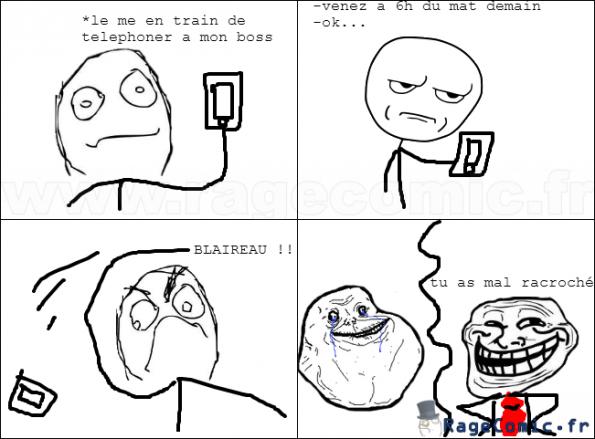 Solitude au téléphone