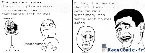 Cordonnier contre dentiste