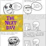 La rage d'un rage comic