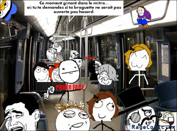 Le braguette et le métro