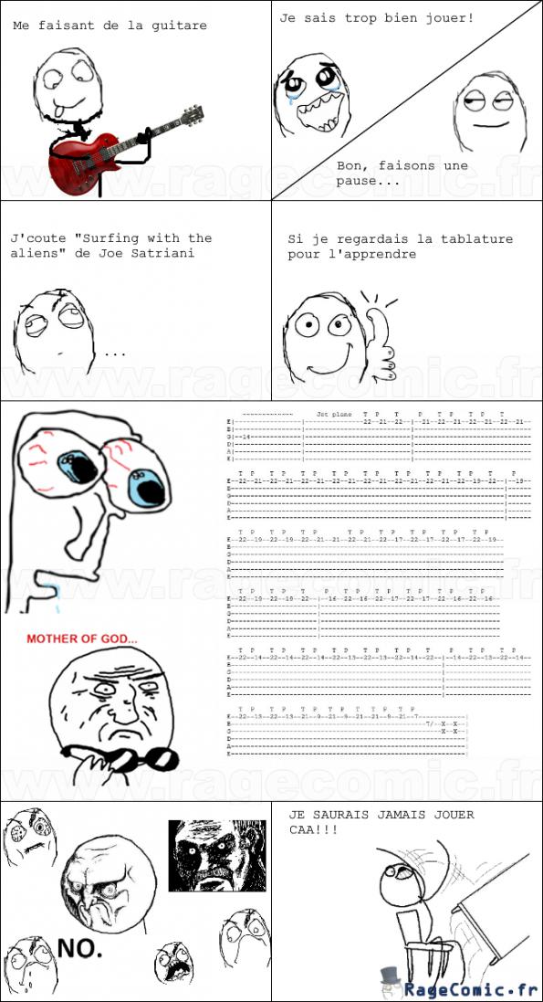 Tablature impossible