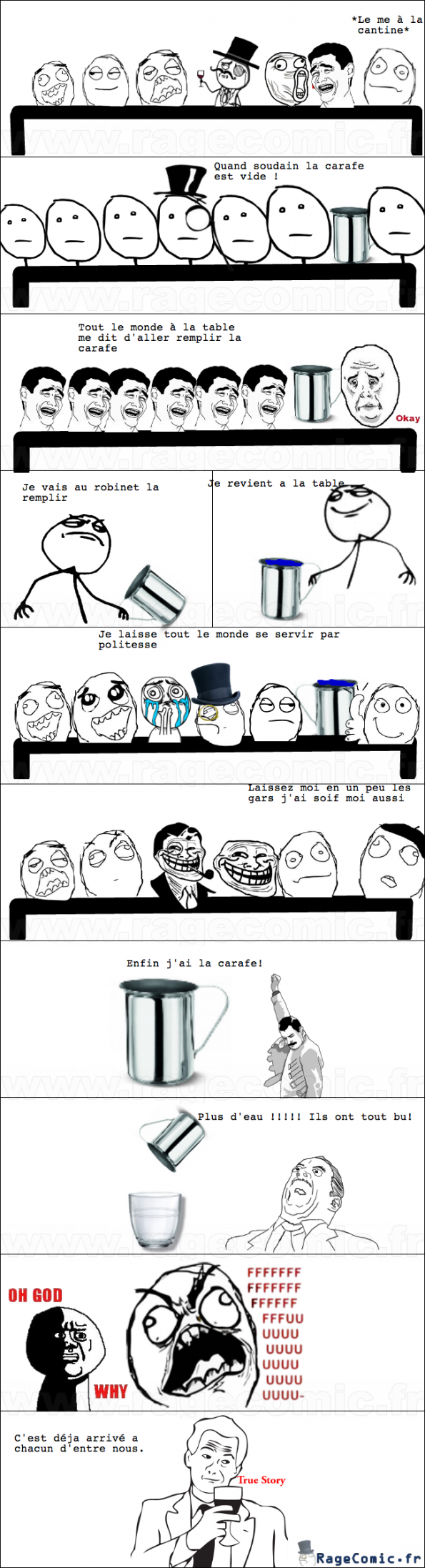 Une histoire de carafe