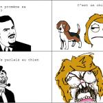 Vache et chien