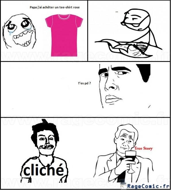 Le PD cliché