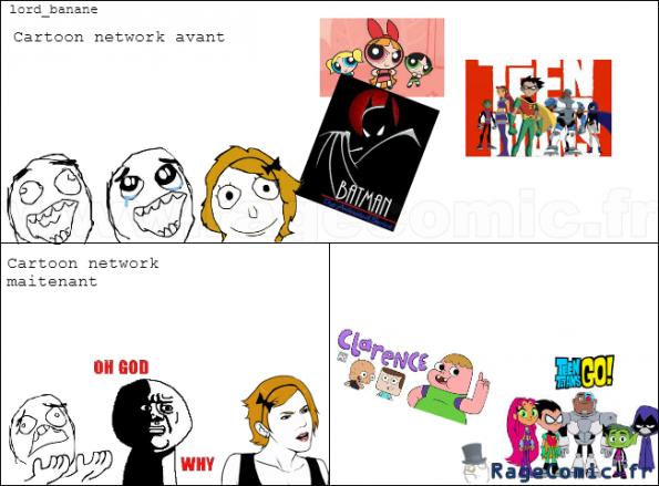 Cartoon network c'était mieux avant !