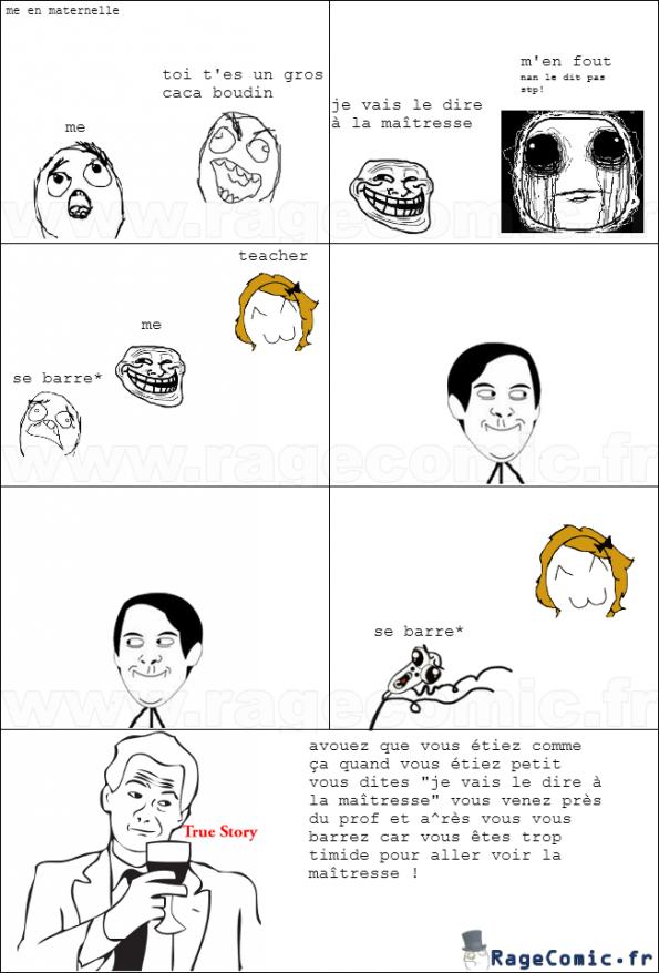 rage maternelle