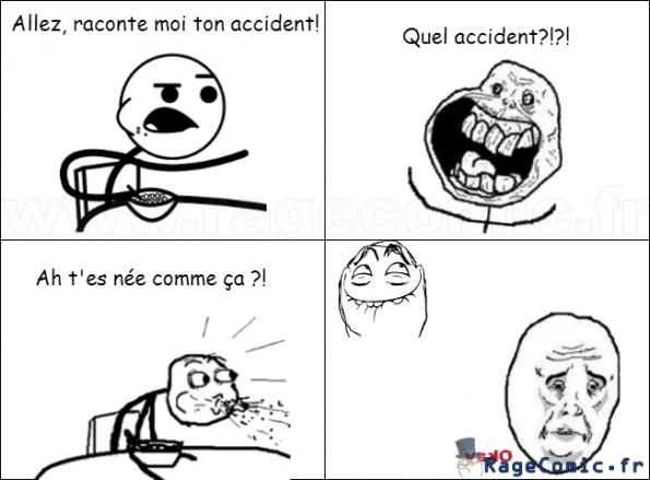 Accidentellement