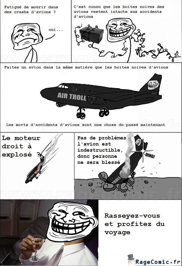 avion indestructible