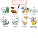 Les Pokémon selon ma mère