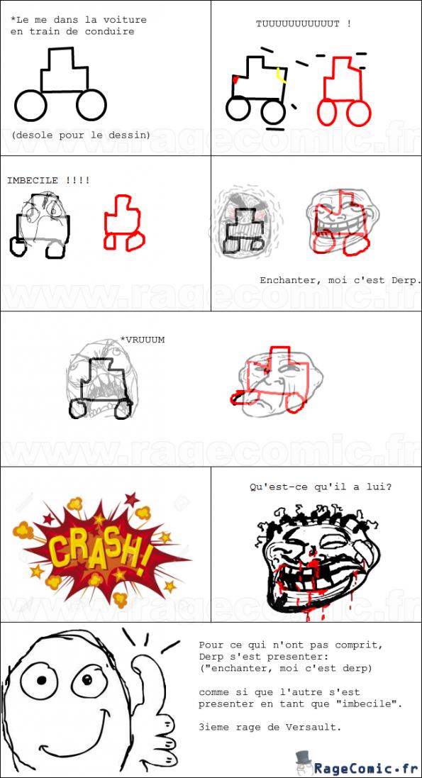 Rage au volant !