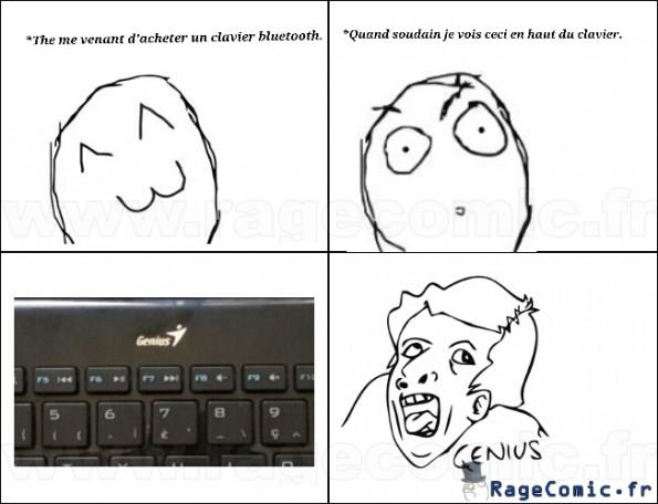 Genius clavier