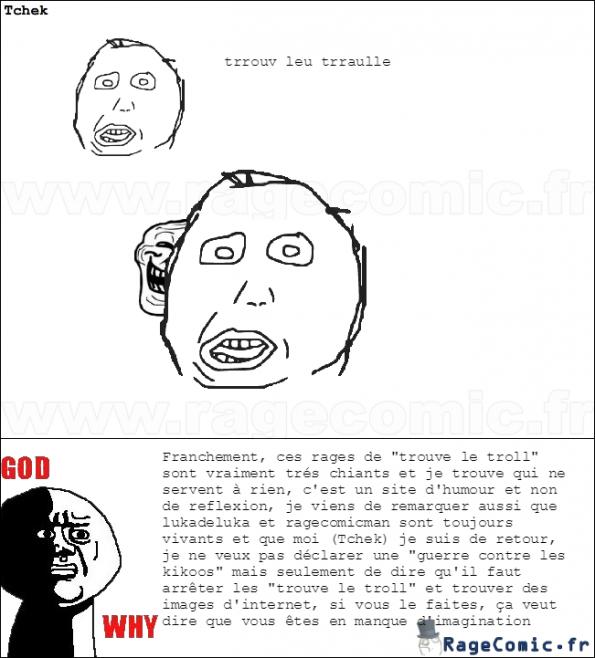 trouve le troll = pourri