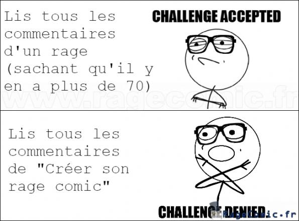 Les commentaires sur ragecomic.fr