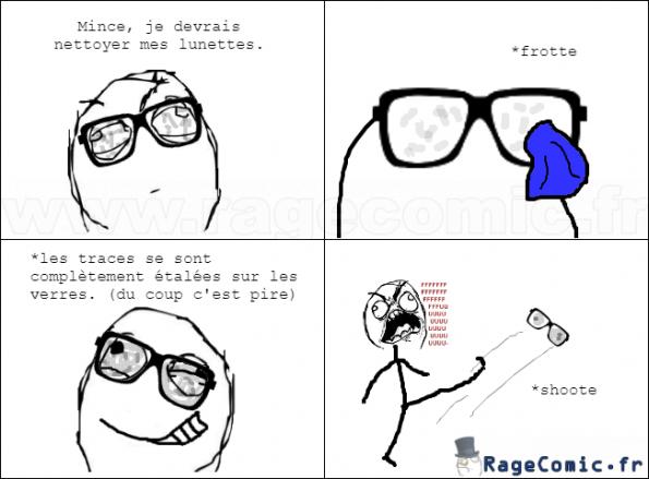 Les lunettes sont diaboliques