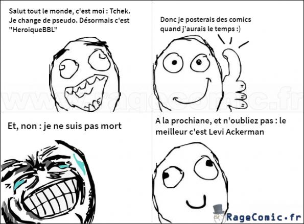 """Tchek devient """"HeroiqueBBL"""""""