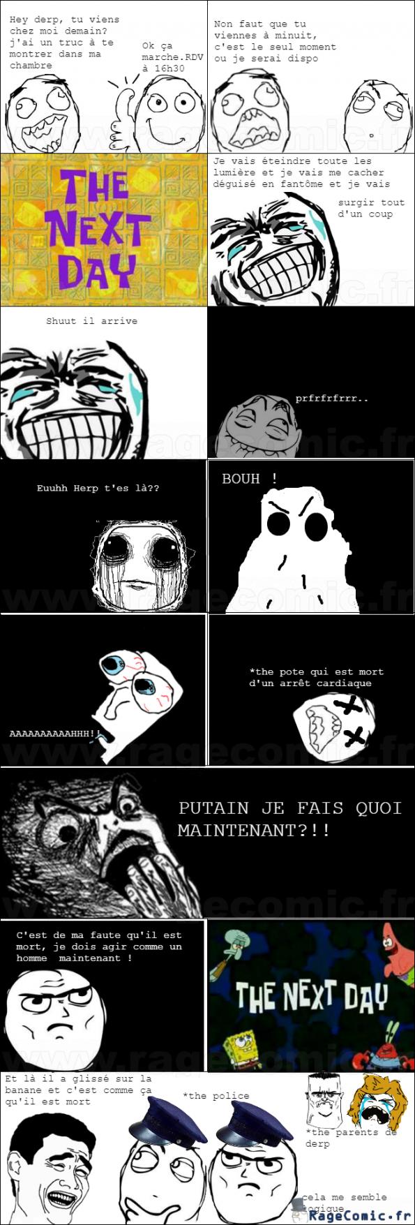 the blague dans le noir rage