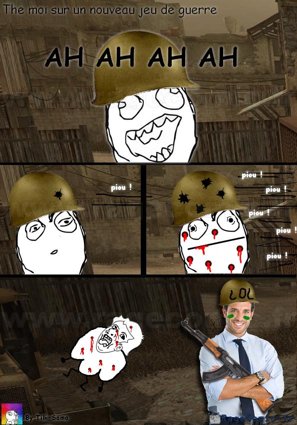 The moi sur un jeu de guerre